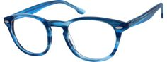 Order online, women blue full rim acetate/plastic wayfarer eyeglass frames model #104616. Visit Zenni Optical today to browse our collection of glasses and sunglasses.