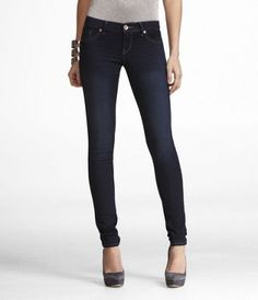Express skinny jean - zelda.  You want a comfy, stretchy skinny jean, this is a must have.  Hit it up when they have coupons and you can get a pair for $40, the best 40 you will spend on jeggings