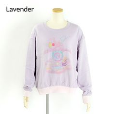 milklim x magical Shuwa Shuwa Magic Sweatshirt - lavender
