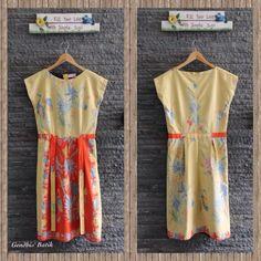 Batik Mini Dress Idea. Encim Pekalongan Halus Lining Tricot Halus (595K). By Amelia Gendhis.