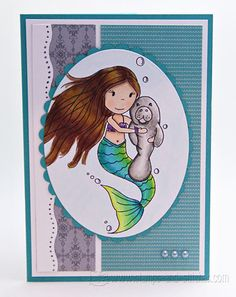 Stamps and Stitches: Manatee Love I wan this in a print Manatee Florida, Sea Cow, Lawn Fawn Stamps, Manatees, Gentle Giant, Tropical Paradise, Endangered Species, Cows, Mammals