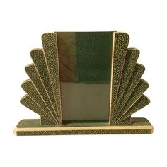 Art Deco Shagreen Photo Frame