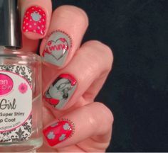 Tips and Topcoat: Minnie Mouse Sketch - Mix and Match