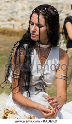 Dacian woman with tatto on her face Stock Photo, Royalty Free Image: 161292865 - Alamy Iron Age, Character Inspiration, Writing Inspiration, 1st Century, Ancient Greece, Royalty Free Images, Wonder Woman, Culture, Stock Photos