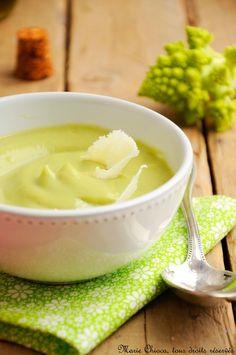 Une soupe délicieusement veloutée à IG bas , sans pommes de terre, (ni beurre, ni crème)… - Saines Gourmandises... par Marie Chioca