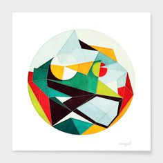 """""""On Time"""" - Numbered Art Print by AnaiGreog on Curioos"""