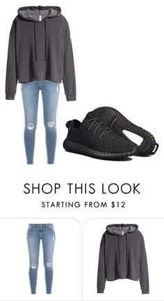 """""""😜Casual😜"""" by bijahn ❤ liked on Polyvore featuring Frame Denim, H&M and adidas"""
