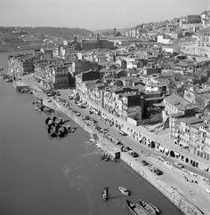 Porto, décadas de 50/60. Douro, Big Country, Portuguese, Salvador, Paris Skyline, Gaia, 1, Europe, Black And White