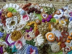 Irish crochet &