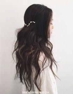 easiest boho bride hair ever!