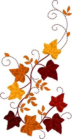 This Linen Leaf Table Runner Hand Embroidery Stitches, Machine Embroidery, Embroidery Designs, Autumn Art, Autumn Leaves, Image Clipart, Fall Pictures, Fabric Painting, Fall Crafts