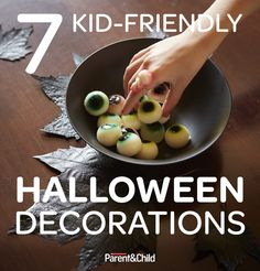We've got seven spooky ideas for family-friendly #Halloween decorations — with directions that won't scare you.