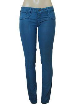 BLEULAB Womens Skinny Jeans Legging Jeggings Denim 32 Blue Cheetah Print Animal  #Bleulab #SlimSkinnyLeggings