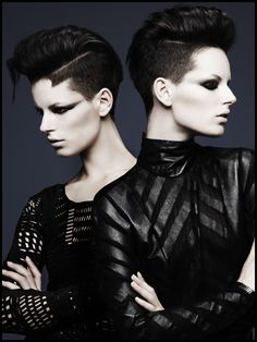 Hair: Akin Konizi @ HOB Salons Photography: Jenny Hands Makeup: Natsumi Watanabe
