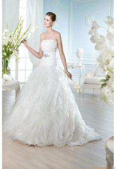 Elegant & Luxuriös Elegante Brautkleider