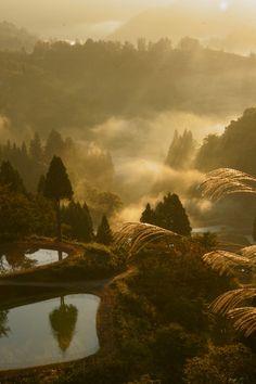 The splendor of Japanese countryside! Yamakoshi village, Niigata, Japan