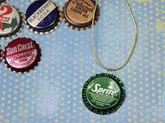 Make a Bottle Cap Necklace