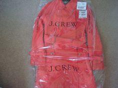 J. Crew Stadium-cloth boulevard trench / 4 / SMOKY CORAL