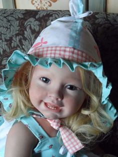 Reborn Doll Toddler Tifany by Susan Lippl Full Body Beauty