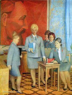 Козел Михаил Владимирович (1939-2011) «Следователи УВД Волгоградской области» 1974