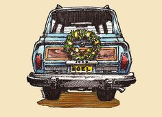 #61 Christmas Grand Wagoneer by wagonized, via Flickr