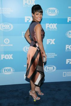 Grace Gealey Photos Photos - Actress Grace Gealey attends the 2015 FOX programming presentation at Wollman Rink in Central Park on May 11, 2015 in New York City. - 2015 FOX Programming Presentation - Red Carpet