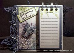 Claudia's Karteria Calendar, Blog, Challenges, Spring, Crafts, Boxes, Bricolage, Handmade, Creative