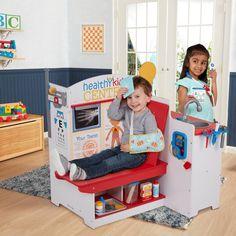 Kids Activity Center, Wooden Play Kitchen, Credit Card Readers, Emotional Development, Pretend Play, Role Play, Melissa & Doug, Wellness Center, Dramatic Play