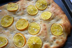 Meyer Lemon and Sea Salt Focaccia | Patent & the Pantry