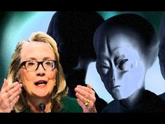 ☪Hillary Clinton fala sobre DISCOS VOADORES nos Estados Unidos☪. Mundo #...