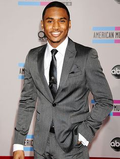 Trey Songz, is it wrong to find him so sexy after I found out I'm same age as his Mom? :) and so was Toni Braxton apparently.