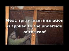 Save energy and make your home more energy efficient with spray foam attic insulation. This 2:25 video is part of the Net Zero Home Living series designed to educate homeowners how to save energy. Visit www.idealenergytrends.com to learn more about dramatically reducing and eliminating your home energy bills with energy efficient home improvements from NetZero USA!