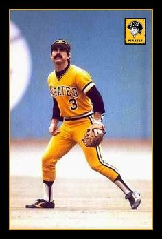 - Phil Garner - Pirates - Second Base Best Baseball Player, Baseball Star, Better Baseball, Softball Players, Mlb Players, Football, Mlb Pirates, Pittsburgh Pirates Baseball, Pittsburgh Sports