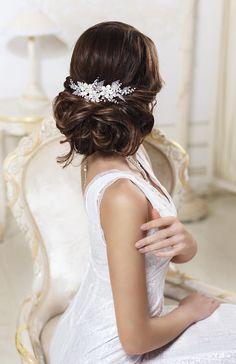 Bridal hair comb Rhinestone hair comb Crystal hair comb Bridal