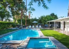 Search Our Palm Springs Vacation Homes Palm Springs Mid Century Modern, Spring Vacation, Coachella Valley, Time Design, Modern House Design, Midcentury Modern, Modern Architecture, Swimming Pools, Backyard