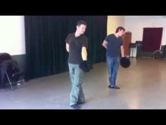 Choreographer Paul Becker  Jeremy Renner Dancing in the Studio ... OMG ... He can dance too!!!!!!!!!!!!!!!! *breathless*