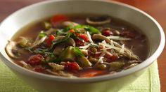 Slow-Cooker Italian Chicken-Lentil Soup