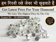 Here you can find the best possible price for your Diamond. Apart from buying a diamond, we accept all kinds of gold and silver. For more details about our services contact us at Sell Silver, Sell Gold, Buy Loose Diamonds, Silver Ornaments, Diamond Jewellery, How To Make Ornaments, Precious Metals, Jewelry Shop, Silver Jewelry