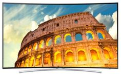Featuring a curved 1080p LED display, this #Samsung TV delivers crisp, clear images. Built-in Wi-Fi lets you surf the web and wirelessly stream movies you and th...