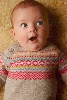 Benetton Baby Fairisle sweater