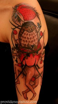 Garden of Earthly Delights Owl