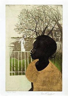 Crichlow, Ernest T. (1914-2005) - 2002 New Dreams (lithograph) by RasMarley, via Flickr