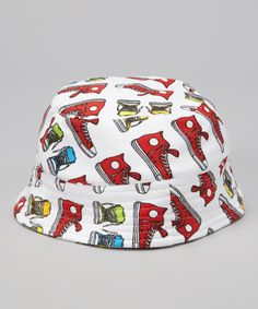 Take a look at this Red Walk a Mile Organic Bucket Hat by Sweet Peanut on 1e07ac5edaff