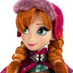 Anna Limited Edition Doll - 17'' - Frozen - Pre-Order