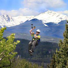 Zip line - Fun Outdoor Summer Activities In Winter Park & The Fraser Valley CO #Silverleaf Resorts