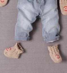 Modèle chaussons bébé - Modèles tricot layette - Phildar