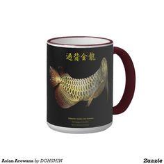 Asian Arowana リンガーマグカップ