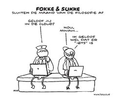 Fokke en Sukke over Cloud Computing