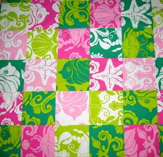 "Lilly Pulitzer's ""Patch Paradise"" print. Picture Yourself in Paradise at www.floridanest.com"