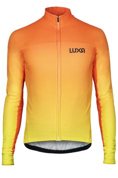 Orange long sleeve for cyclists from the Sunrise collection. Inspired by  the warm colors of the rising sun. Check out the most stylish Cycling  Apparel on ... a3897b4fa